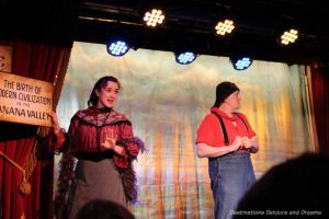Impressions of Fairbanks: Golden Heart Revue at the Palace Theatre