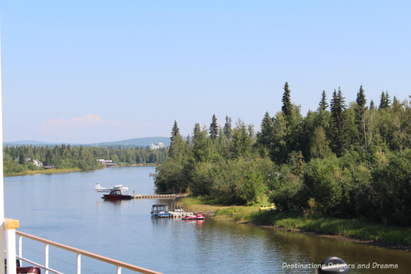 Cruising the Chena River in Fairbanks, Alaska