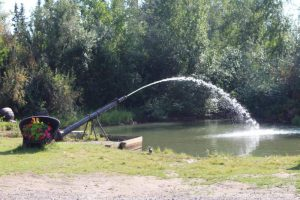 Pump in Pioneer Park, Fairbanks, Alaska