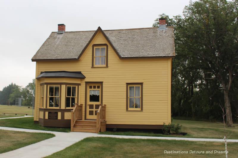 Hazel Cottage at Nellie McClung Heritage Site