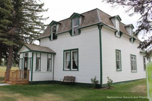 Nellie McClung House at museum in Manitou, Manitoba