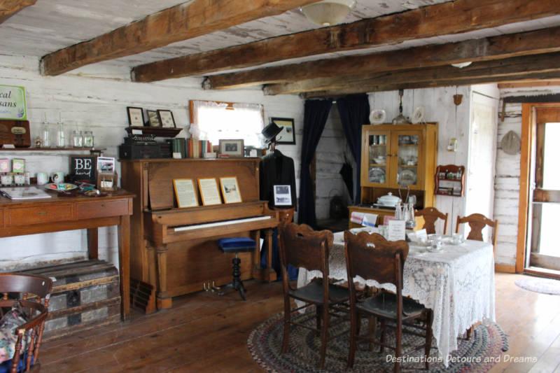 Inside the Manitou Tourism Centre