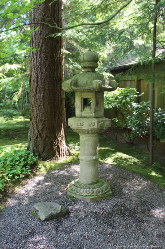 Marriage Lantern at Nitob Memorial Garden in Vancouver