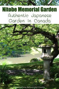 Nitobe Memorial Garden: an authentic Japanese garden in Canada on unviersity grounds in Vancouver, British Columbia #Canada #Vancouver #Britishcolumbia #garden #Japanesegarden