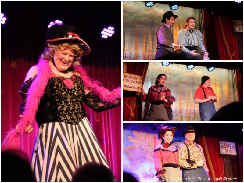 Scenes from the Golden Heart Revue in Fairbanks, Alaska