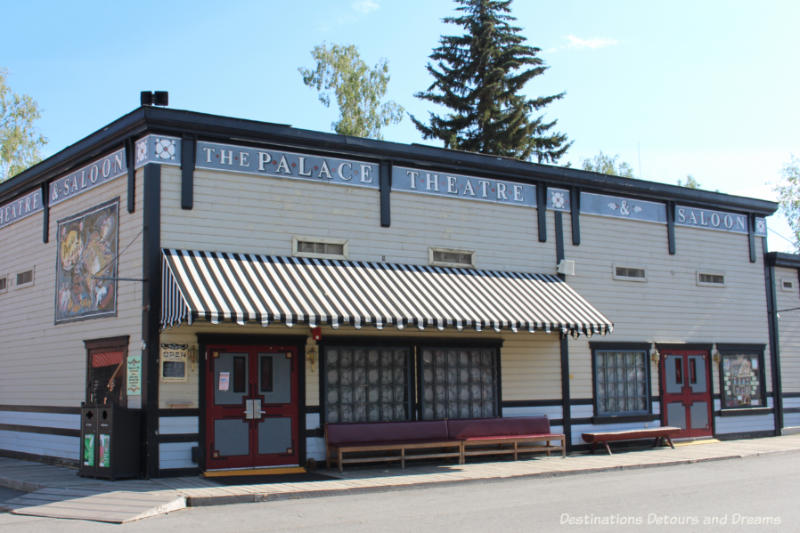 Palace Theatre in Pioneer Park in Fairbanks, Alaska