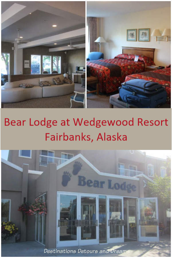 Bear Lodge at Wedgewood Resort in Fairbanks, Alaska #Alaska #Fairbanks #hotel