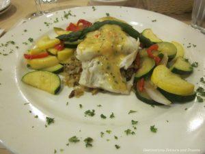 Alaskan Cod Oscar meal