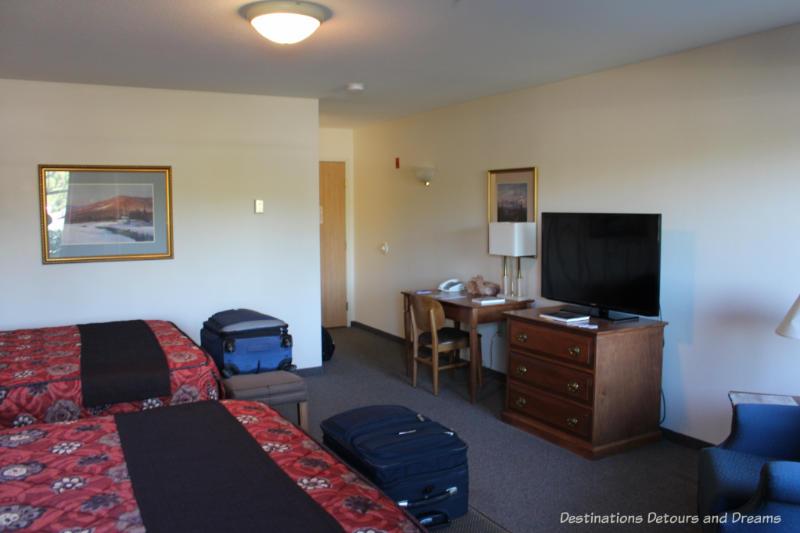 Room at Bear Lodge at Wedgewood Resort in Fairbanks, Alaska