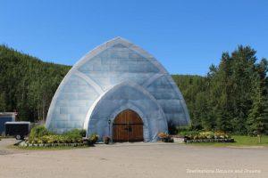 Aurora Ice Museum at Chene Hot Springs Resort