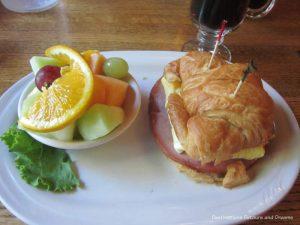 Breakfast at Chena Hot Springs Resort