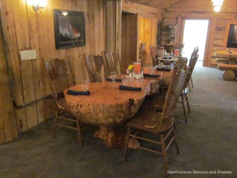 Chena Hot Springs Resort Dining Room