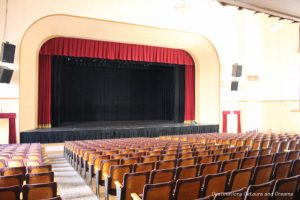 Inside Eureka Springs City Auditorium