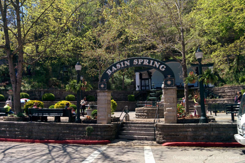 Basin Spring Park, Eureka Springs, Arkansas