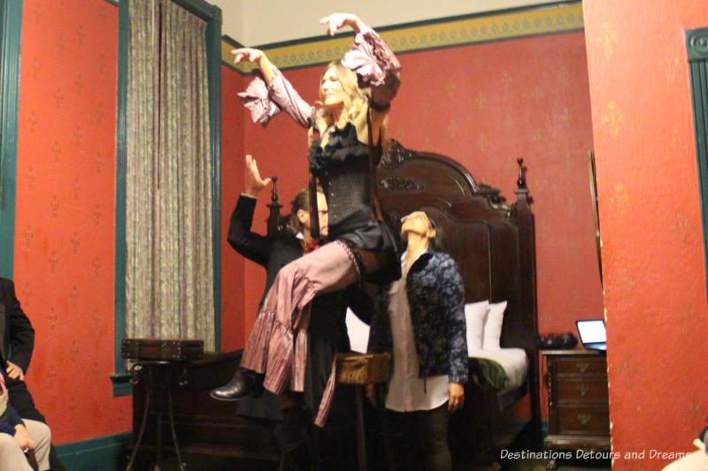Intrigue Theatre performance, Eureka Springs