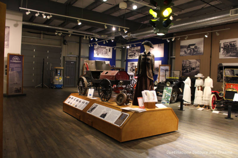 Alaska exhibit at Fountainhead Antique Auto Museum