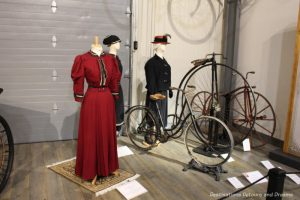 Bicycles at the Fountainhead Antique Auto Museum