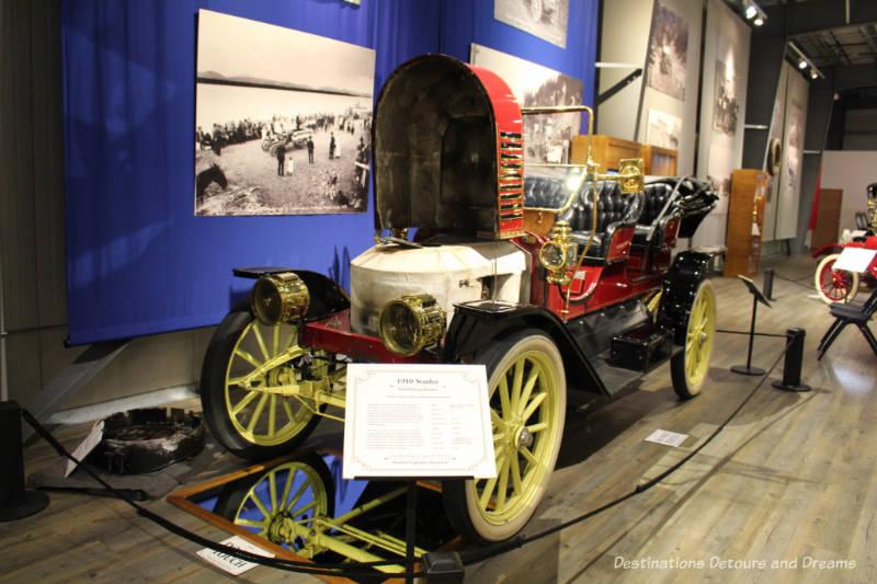 """1910 Stanley Model R Steam Roadster, """"America's Legendary Steam Car"""""""