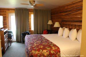 Cabin room at Pike's Waterfront Lodge in Fairbanks, Alaska