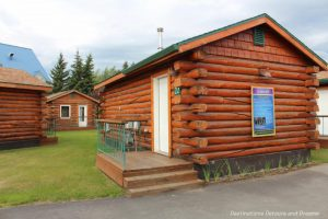 Cabins at Pike's Waterfront Lodge in Fairbanks, Alaska