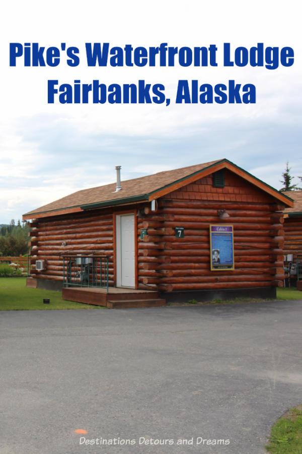 Where to stay in Fairbanks, Alaska - Pike's Waterfront Lodge #Alaska #Fairbanks #hotel