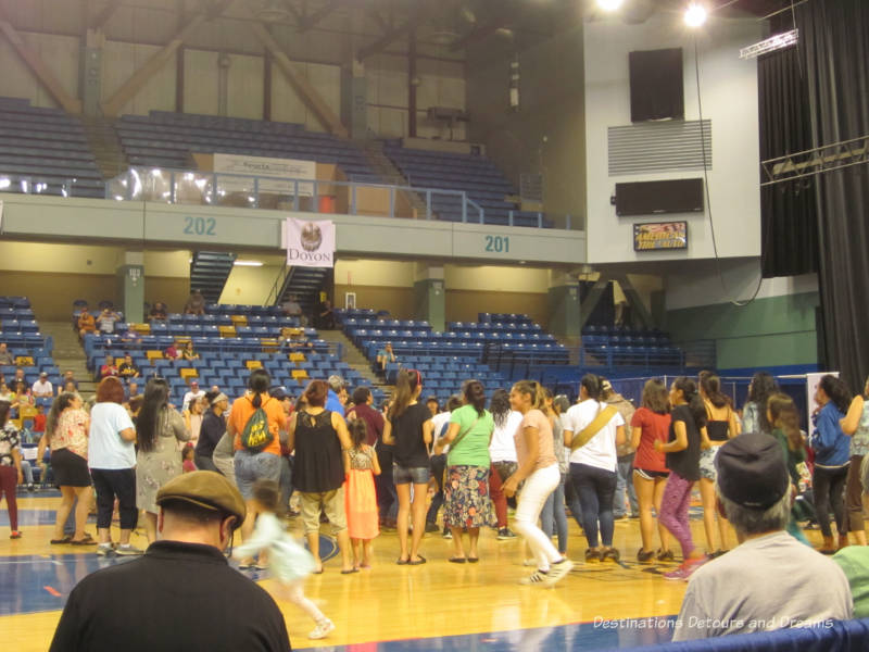 Dancing at the World Eskimo-Indian Olympics