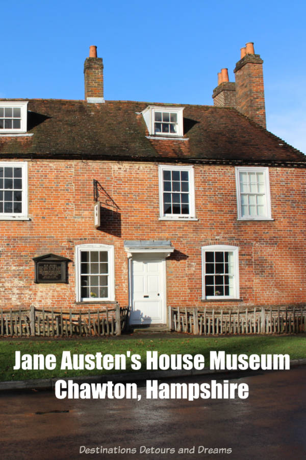 The house where Jane Austen lived and wrote in Chawton, Hampshire is now a museum #England #Hampshire #Chawton #JaneAusten #museum