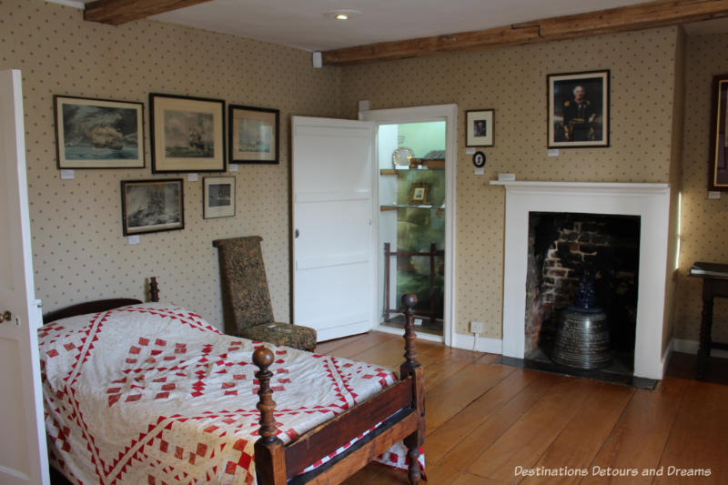 Bedroom at Jane Austen's House Museum