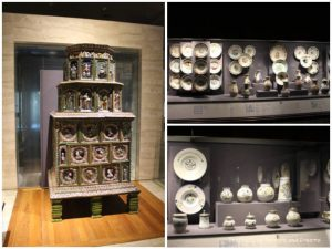 Ceramics in the Koemer European Ceramics Gallery at Museum of Anthropology