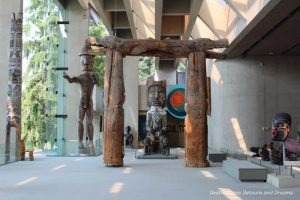 Museum of Anthropology Great Hall in Vancouver, British Columbia