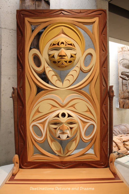 'ehhwe'p syuth (To Share History) by John Marston. at Museum of Anthropology