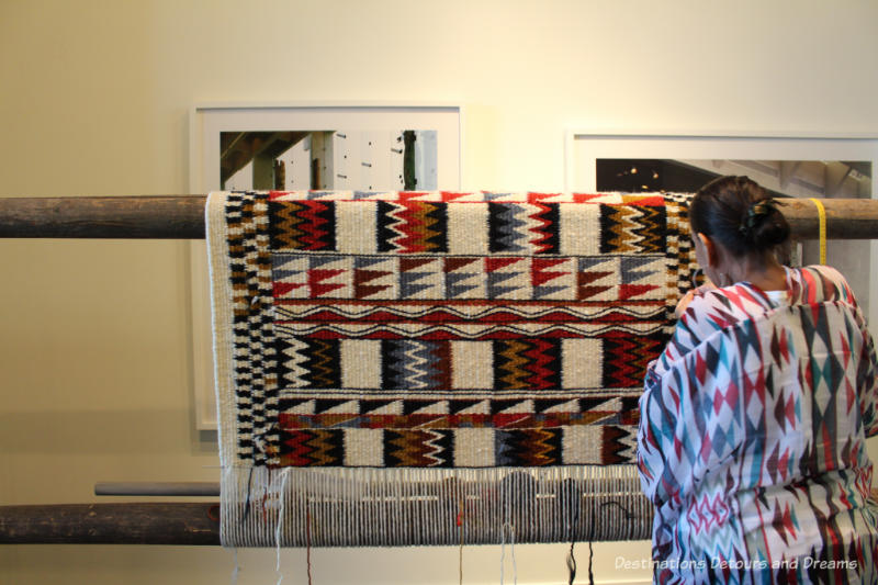 Weaving at the Museum of Anthropology