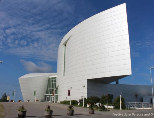Museum of the North at University of Alaska in Fairbanks