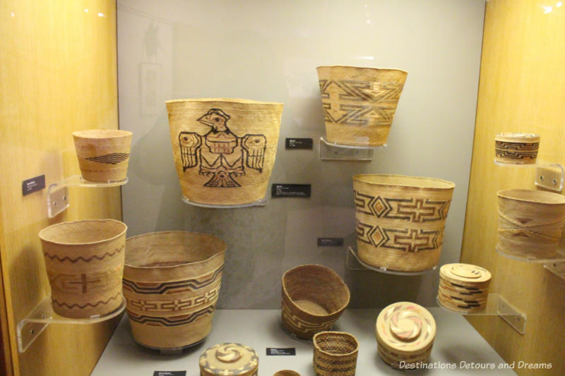 Basketry at Museum of the North