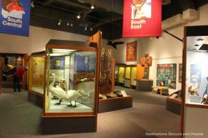 Alaska Gallery at Museum of the North in Fairbanks, Alaska
