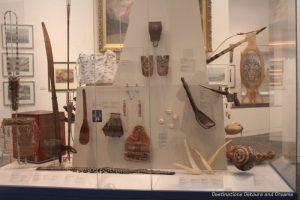 Exhibits in the Rose Berry Art Gallery, Fairbanks Alaska