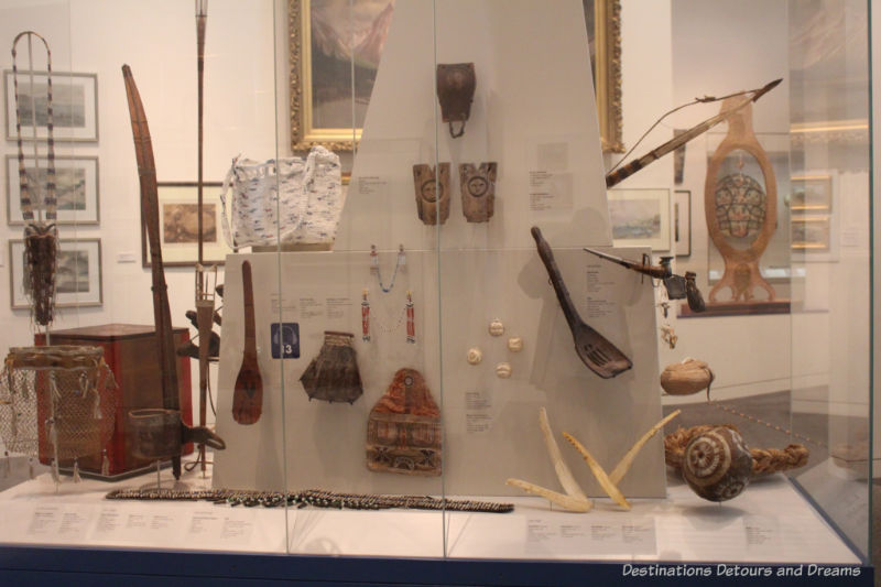 Exhibits in the Rose Berry Art Gallery, Fairbanks Alaska