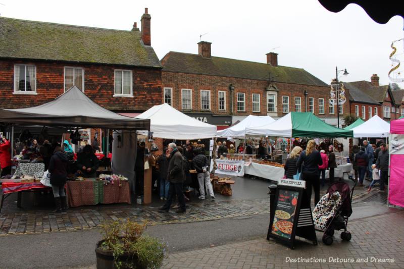 Haslemere Christmas Market, Surrey, England