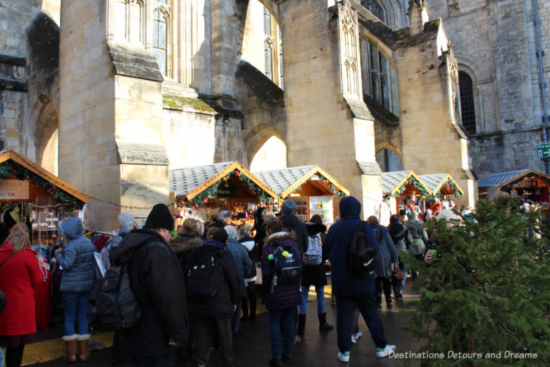 Winchester Christmas Market; English Christmas