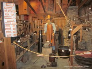 Blacksmith shop at the Ralph Foster Museum in Branson