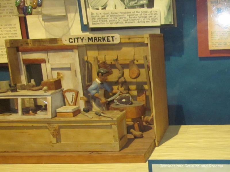 Displays at Ralph Foster Museum