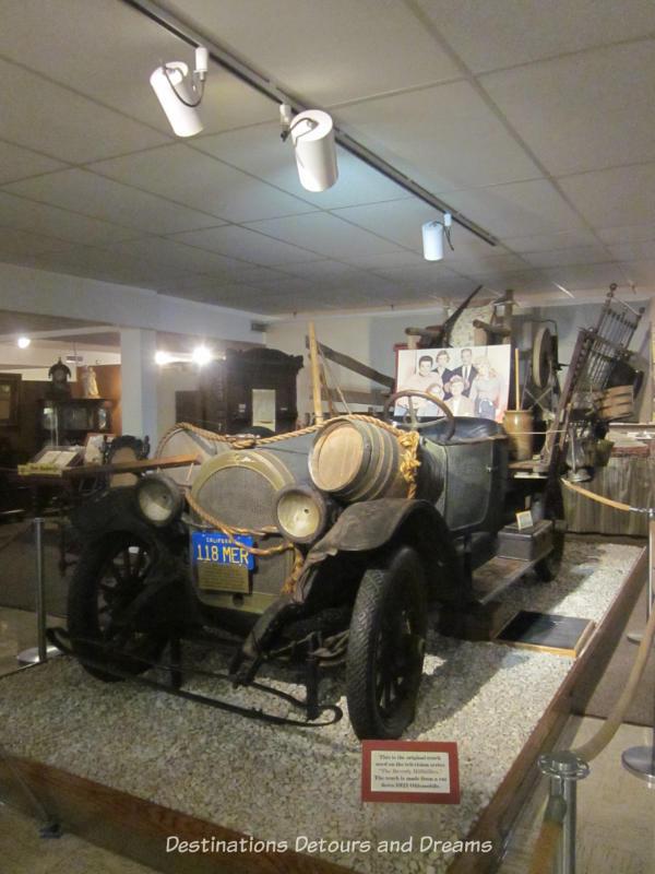 Beverley Hillbillies car at the Ralph Foster Museum in Branson