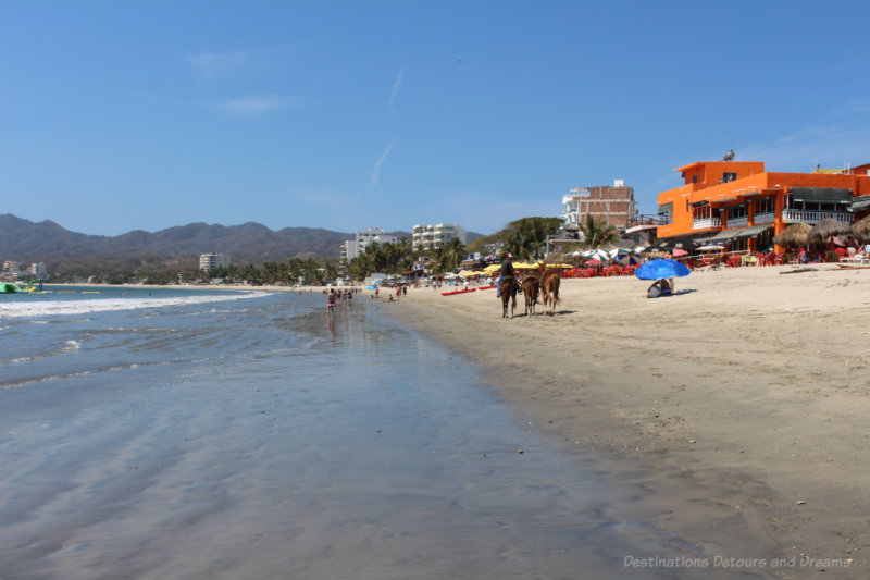 Beach at Bucerías, Mexico