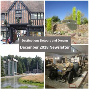 Destinations Detours and Dreams December 2018 Newsletter