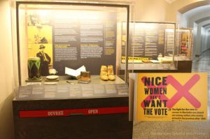 Manitoba Museum Exhibit: Nice Women Don't Want The Vote