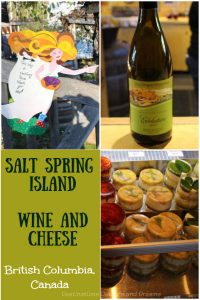 Salt Spring Island Wine and Cheese: A visit to a winery and a cheese maker on Salt Spring Island, one of the Gulf Islands in British Columbia, Canada #SaltSpring #Canada #BritishColumbia #wine #cheese