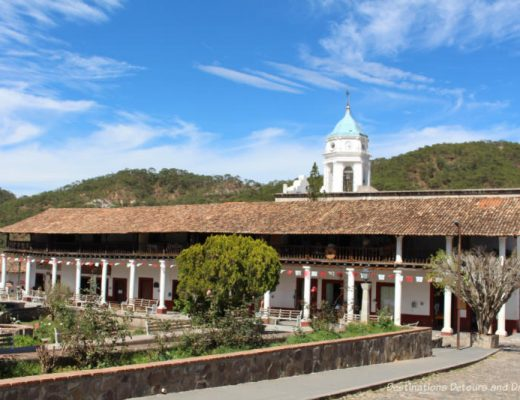 San Sebastián del Oeste, Mexico, a Pueblo Mágico town in the Sierre Madre Mountains above Puerto Vallarta