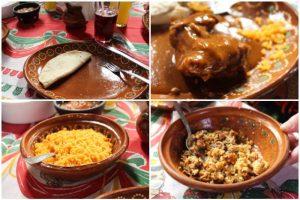 Food at Comedor La Lupita in San Sebastián del Oeste, Mexico