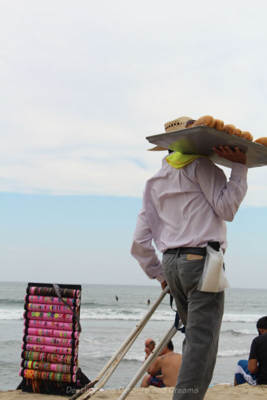 Beach vendors, Sayulita, Mexico