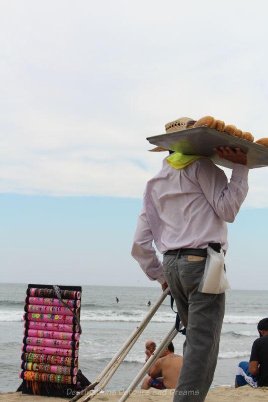 Beach vendors, Sayulita, Mexico
